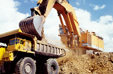 Photo: Construction and mining machinery