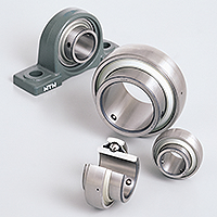 Photo: Double row tapered roller bearings